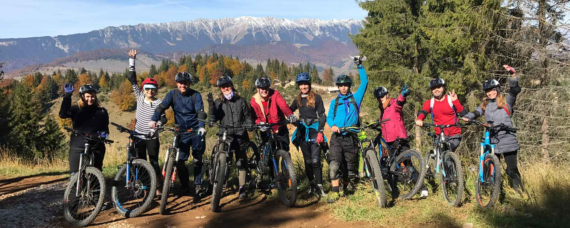 , Tura Mountainbike in Bucegi